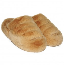 Pantufla India Canela